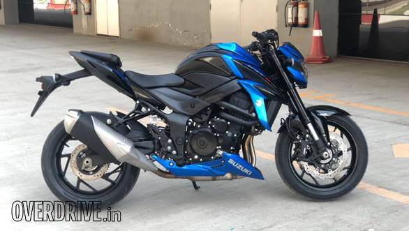 2018 Suzuki GSX-S750 | Buddh International Circuit | Static | Right Side