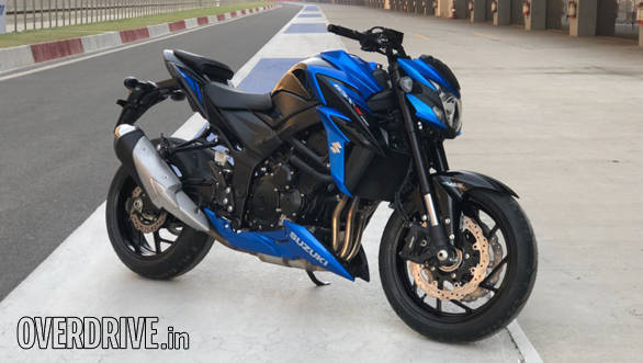 2018 Suzuki GSX-S750 | Buddh International Circuit | Static