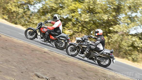 Comparison: Bajaj Avenger 180 Street vs Suzuki Intruder 150