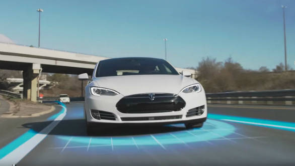 Tesla releases some of its Model S autonomous driving software to coders