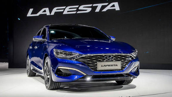 Hyundai Lafesta shown at Auto China 2018