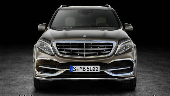 Mercedes-Maybach GLS-Class concept to be unveiled at Beijing Auto Show