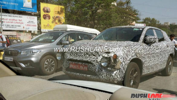 Tata H5X production version spotted testing again