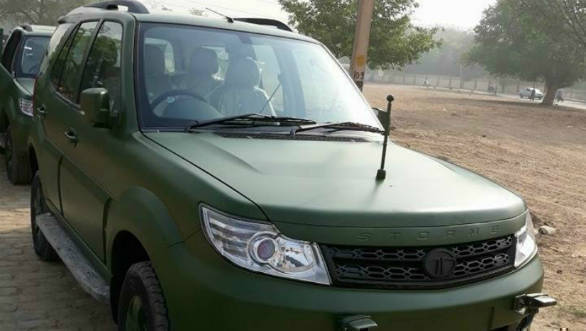 Tata Motors starts deliveries of Army-spec Tata Safari Storme