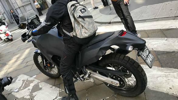 Yamaha tenere 700 prototype spied testing in italy overdrive for Yamaha adventure bike 2018