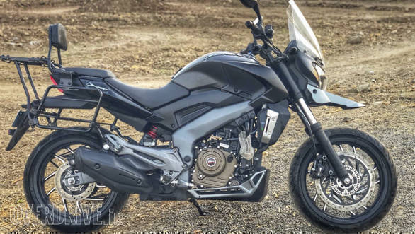 Spied Dominar 400 ADV is not the Bajaj Dominar 400 ADV