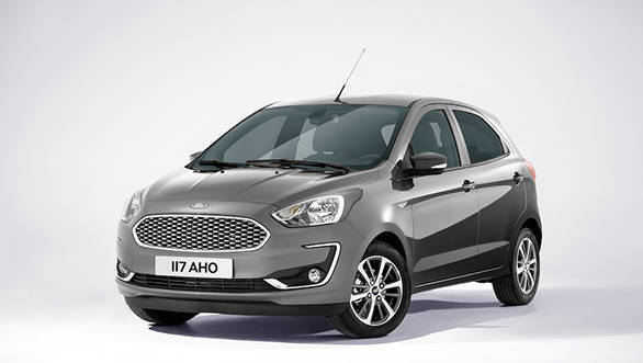 2018 ford figo facelift to launch in india around october. Black Bedroom Furniture Sets. Home Design Ideas