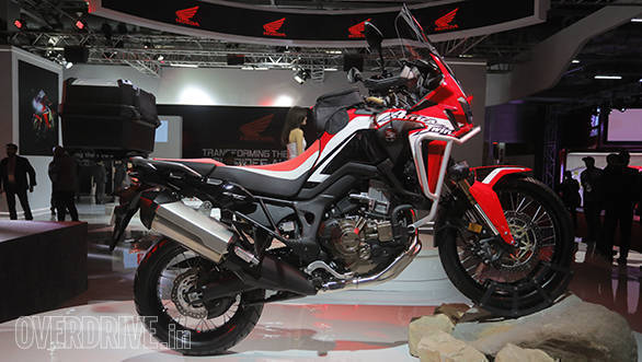 breaking 2018 honda africa twin bookings to open in india. Black Bedroom Furniture Sets. Home Design Ideas