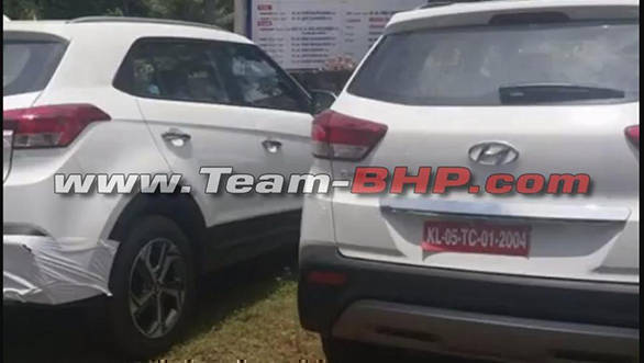 2018 Hyundai Creta facelift reaches dealerships ahead of India launch