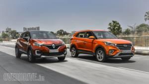 Comparison test: Hyundai Creta vs Renault Captur