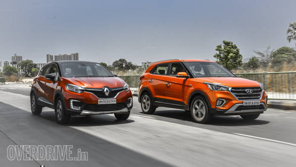 Comparison test: Hyundai Creta vs Renault Captur
