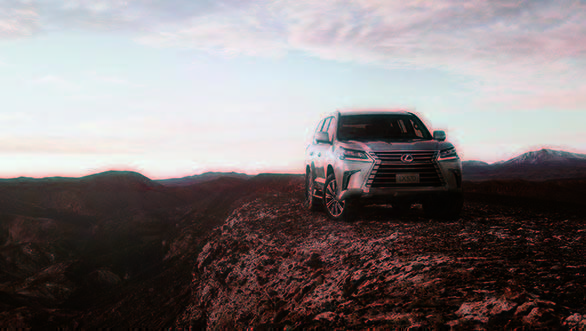 Image gallery: 2018 Lexus LX 570 flagship SUV