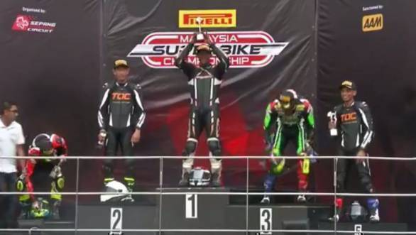 2018 Malaysian Superbike Championship: Victory for K Rajini at season-opening race at Sepang