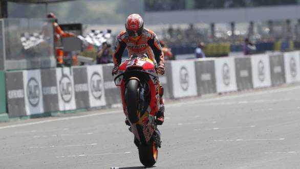 MotoGP 2018: Marc Marquez delivers masterclass at Le Mans