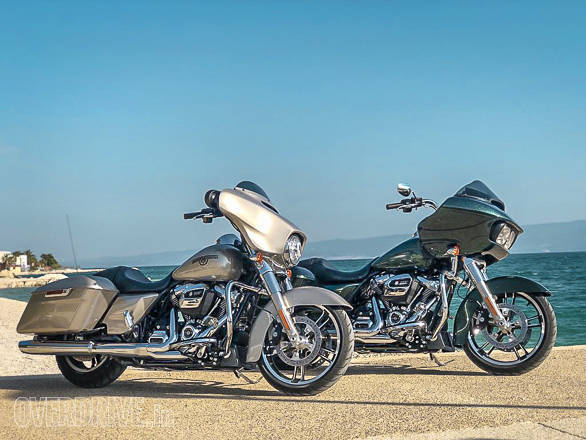 Harley-Davidson Street Glide Speal and Road Glide