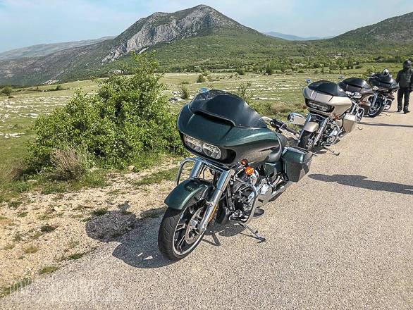 Image gallery: 2018 Harley-Davidson Road Glide and Street Glide in Croatia