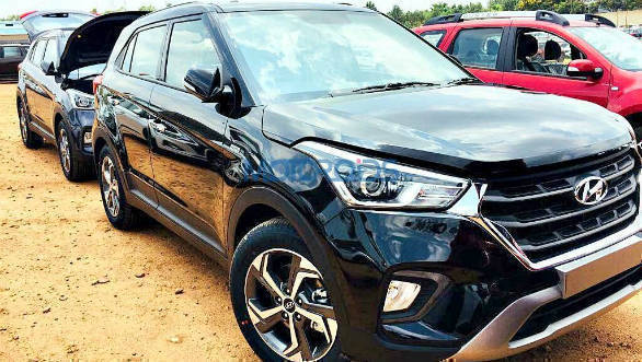 2018 Hyundai Creta Facelift Spotted Undisguised Again Overdrive