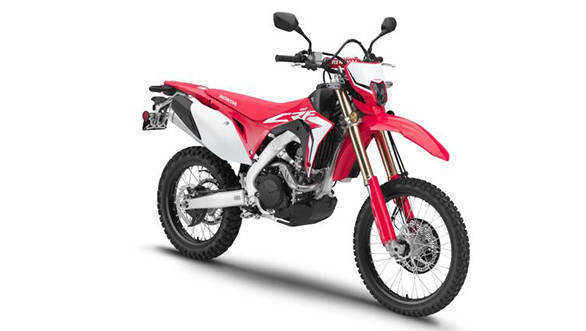 New Honda CRF450L enduro motorcycle unveiled