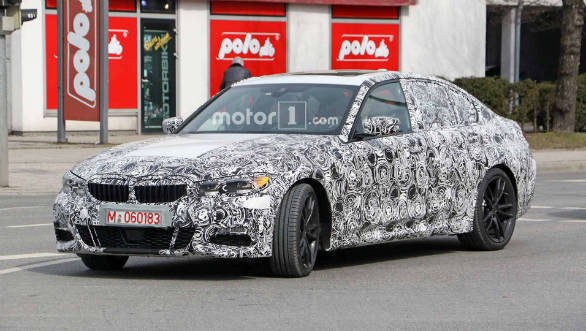 Next-generation BMW 3-Series spotted tested in Germany