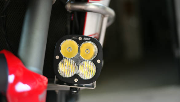On test at OVERDRIVE: Baja Designs XL80 auxiliary lights
