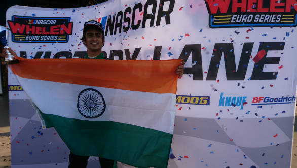 NASCAR Whelen Euro Series 2018: Advait Deodhar leads Elite Club division with podium finish in Italy