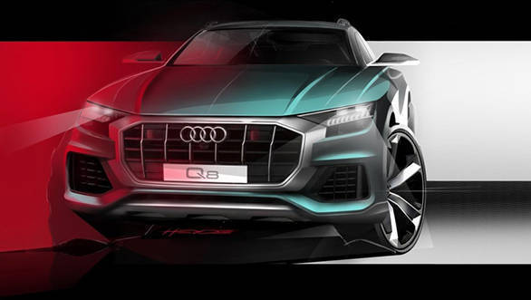 Audi Q8 to be unveiled today in China