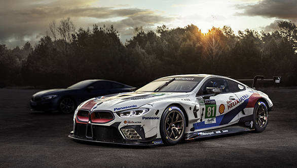The 850 GTE racecar which premieres with the 8 Series Coupe marks BMW's re-entry into Le Mans for the first time since 2011