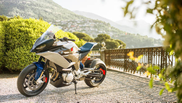 BMW Motorrad shows the 9cento concept adventure sports tourer