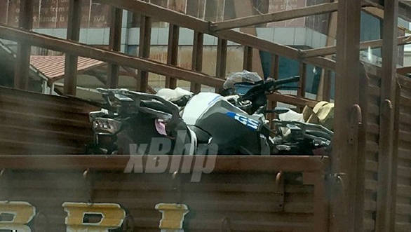 Spotted: BMW G 310 GS seen on a truck in India!