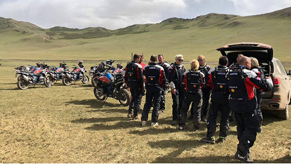 BMW International GS Trophy 2018: Day 1 in Mongolia