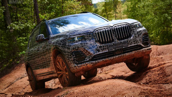 BMW X7 flagship SUV to be unveiled mid-October