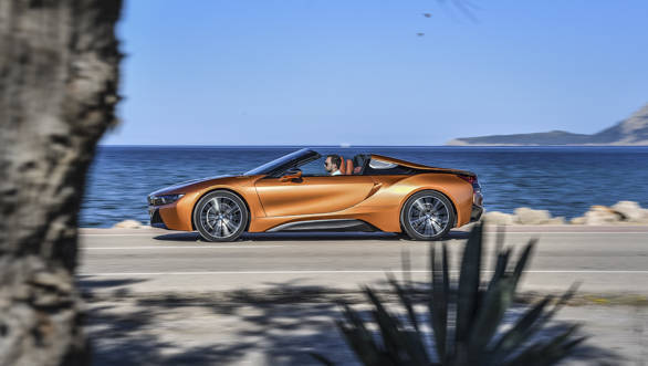 2018 Bmw I8 Roadster First Drive Review Overdrive