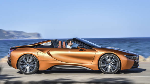 India-bound 2018 BMW i8 roadster: Five things that we like and five we don't