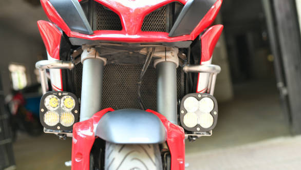 Baja Designs XL80 Driving Combo on Ducati Multistrada 1200 S