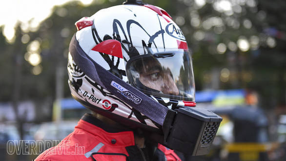Product review: BluArmor BluSnap wearable helmet cooler