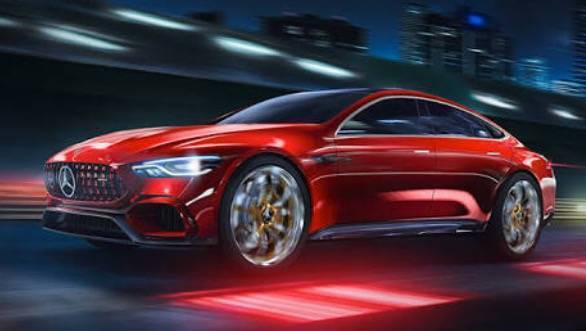 The 805PS drivetrain from the Mercedes-AMG GT Concept is coming!