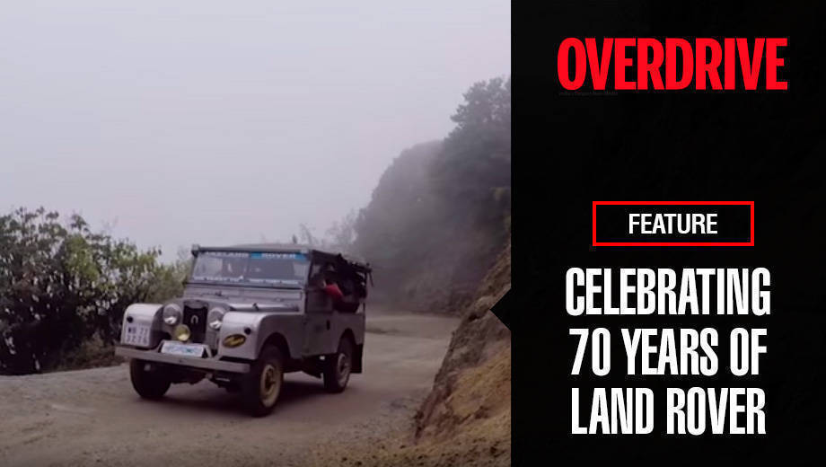 Celebrating 70 years of Land Rover