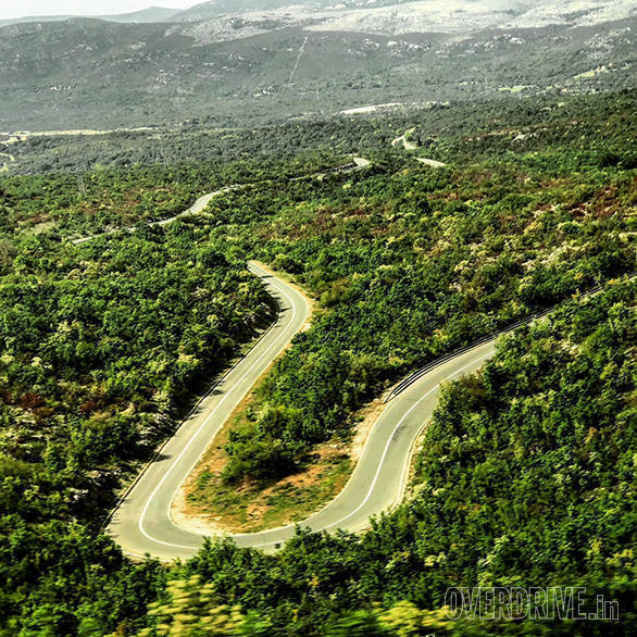 Best riding roads: Enjoying the loops in Split, Croatia
