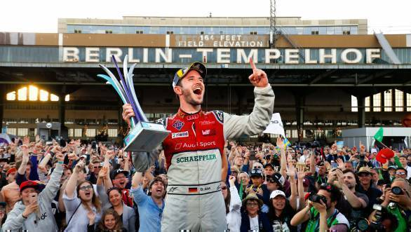 Formula E: Daniel Abt leads Audi one-two at home race in Berlin