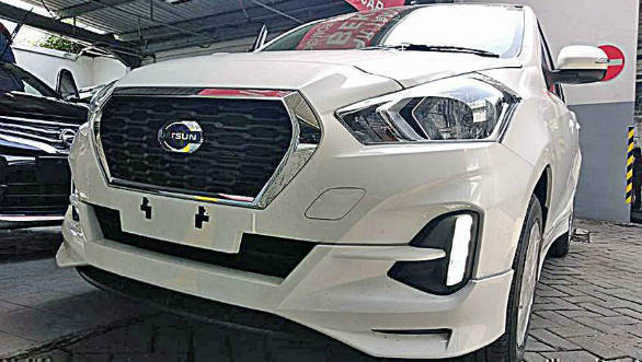 2018 Datsun Go facelift spotted in Indonesia with a CVT option
