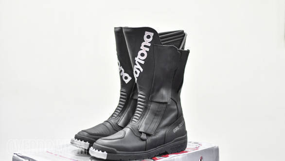 On test at OVERDRIVE: Daytona TransOpen GTX Boots