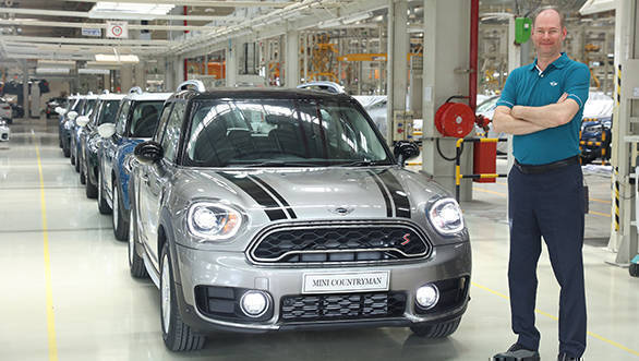 2018 Mini Countryman production begins at Chennai plant
