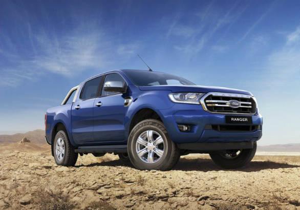 Ford Endeavour-based Ranger pick-up truck facelift unveiled