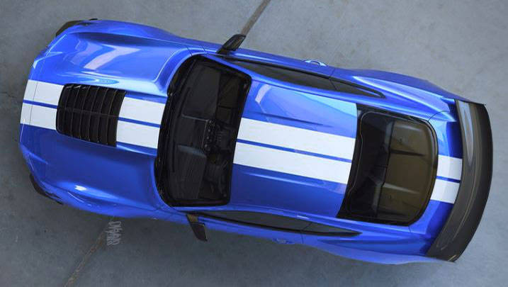 Ford Mustang GT500: Official Image Shows Off Huge Hood