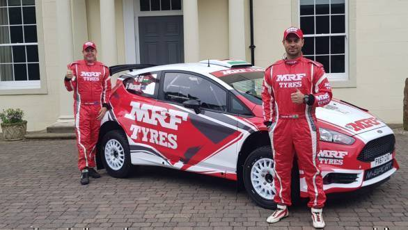 WRC 2018: Gaurav Gill's Team MRF M-Sport Fiesta R5 finally unveiled