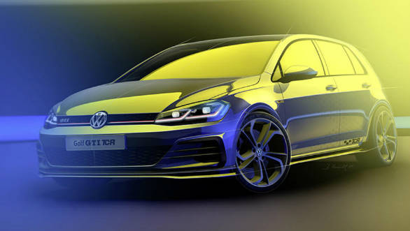 Volkswagen Golf GTI TCR with 290PS teased