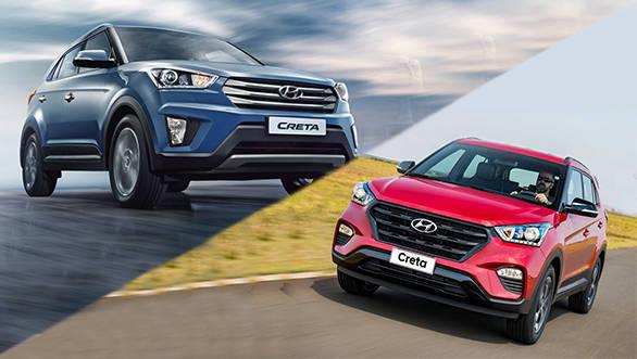2018 Hyundai Creta SUV: Old vs new