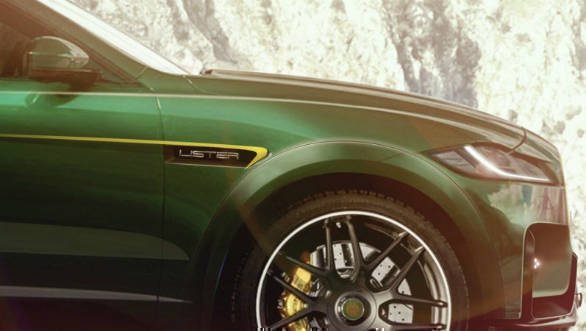 Lister Cars tuned Jaguar F-Pace SVR to be world's fastest SUV