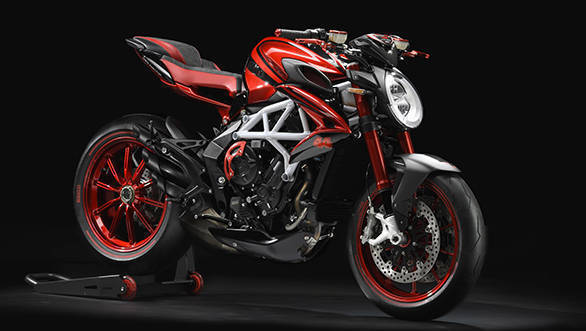 MV Agusta Brutale 800 RR Lewis Hamilton special edition launched