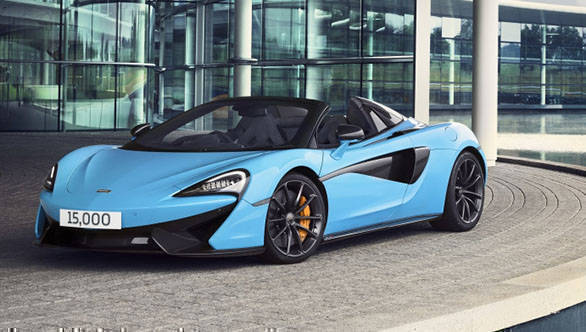 15,000th McLaren Automotive car rolled out